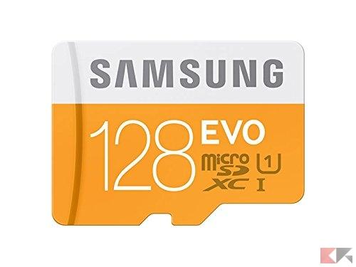 Samsung EVO - MicroSD 128 GB: guida all'acquisto