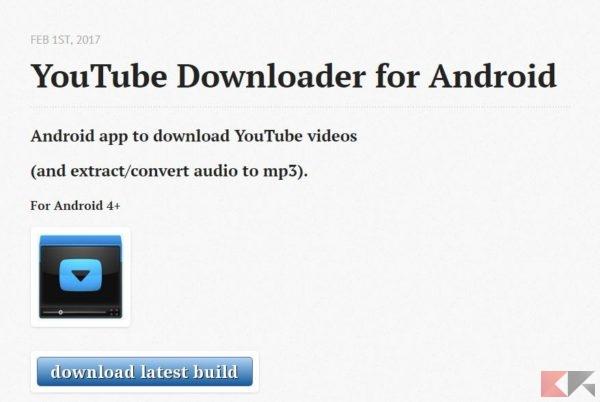 App per scaricare musica da youtube su android chimerarevo.