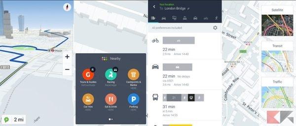 Le migliori app per auto - here-wego
