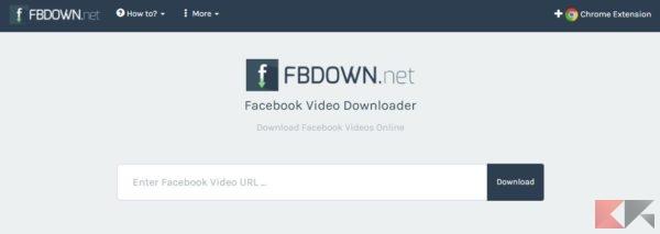 come scaricare video su Facebook