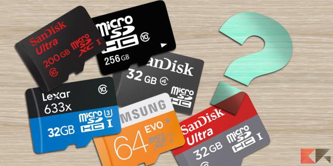 Micro SD 32 GB: guida all'acquisto
