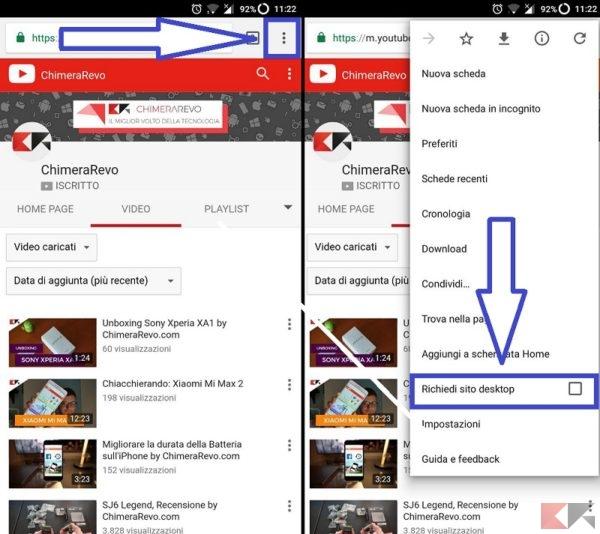 Come riprodurre video YouTube a schermo spento su Android