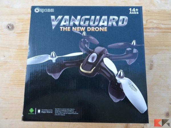 Eachine E33C Vanguard drone quadricottero