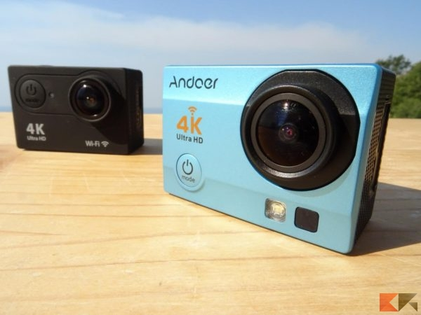 Andoer 4K Action Cam Wi-Fi Water Resistant