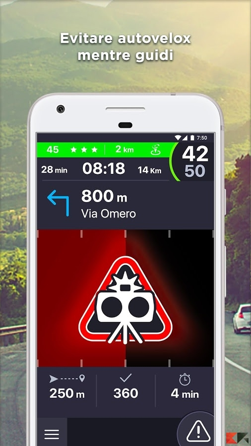 Coyote: Autovelox GPS Traffico