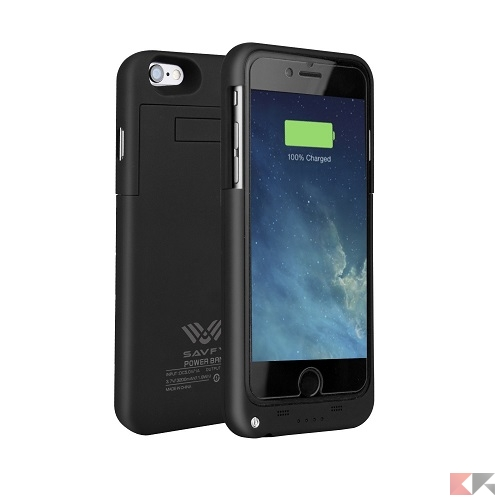 Cover batteria per iPhone - SAVFY iPhone 6 6s
