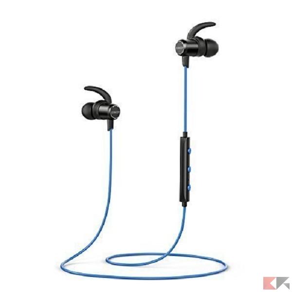 Cuffie e auricolari per sport - Anker SoundBuds Slim