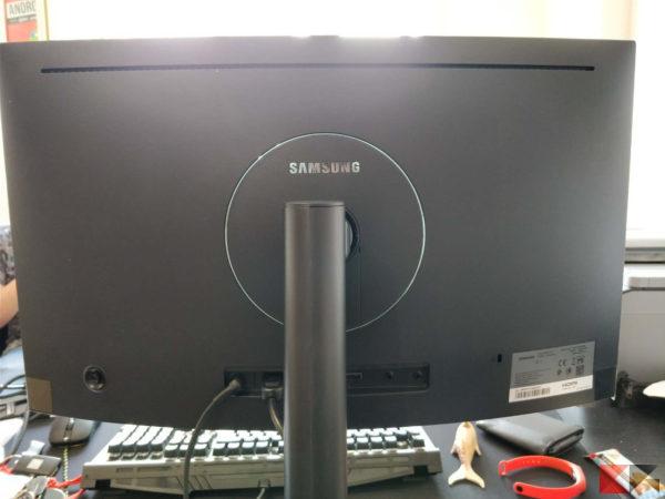 Samsung monitor curvo C24FG73