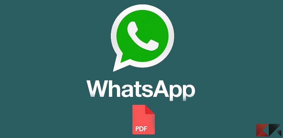WhatsApp PDF