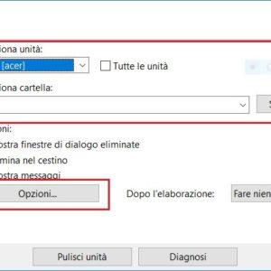 Cancellare file Windows per estensione