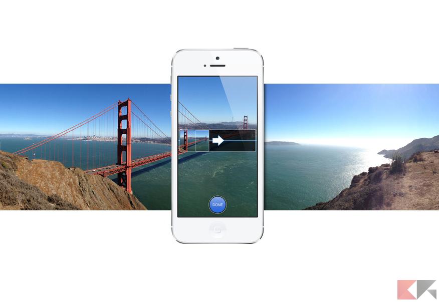 condividere foto panoramiche su Instagram