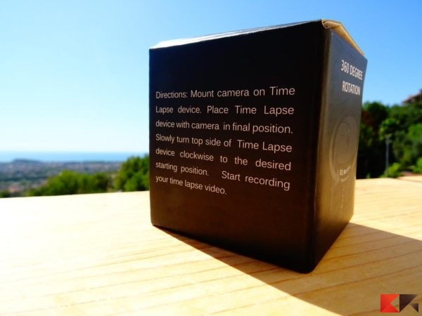 Base rotante per Time Lapse Andoer