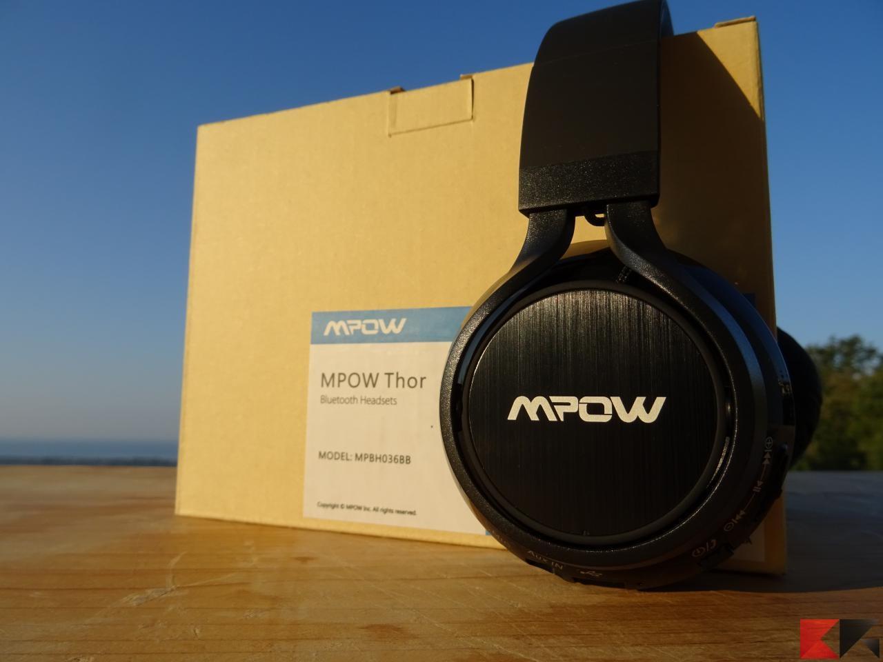 Mpow Thor  cuffie Bluetooth economiche e senza fronzoli! - ChimeraRevo b4fb26bf53c1