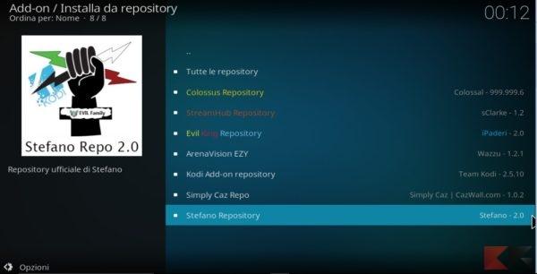 repository italiani per Kodi