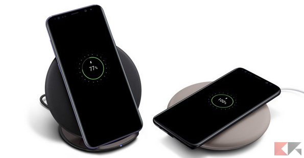 s8 wireless charging
