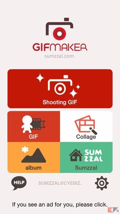 migliori app creare gif