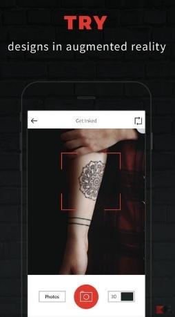 Le migliori app per tatuaggi