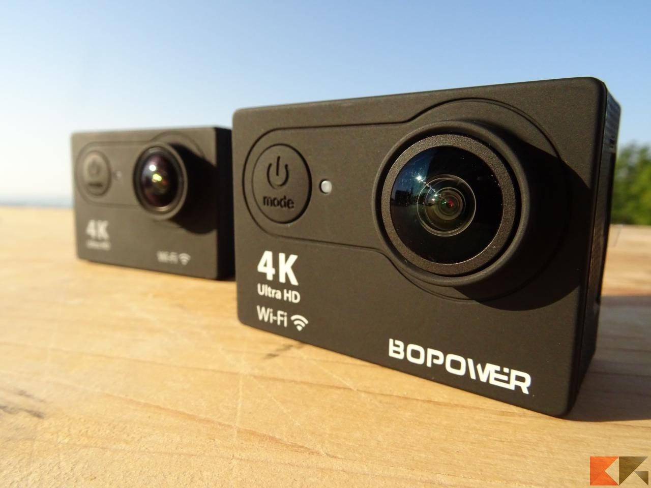 Action Camera Bopower 4K Action Cam