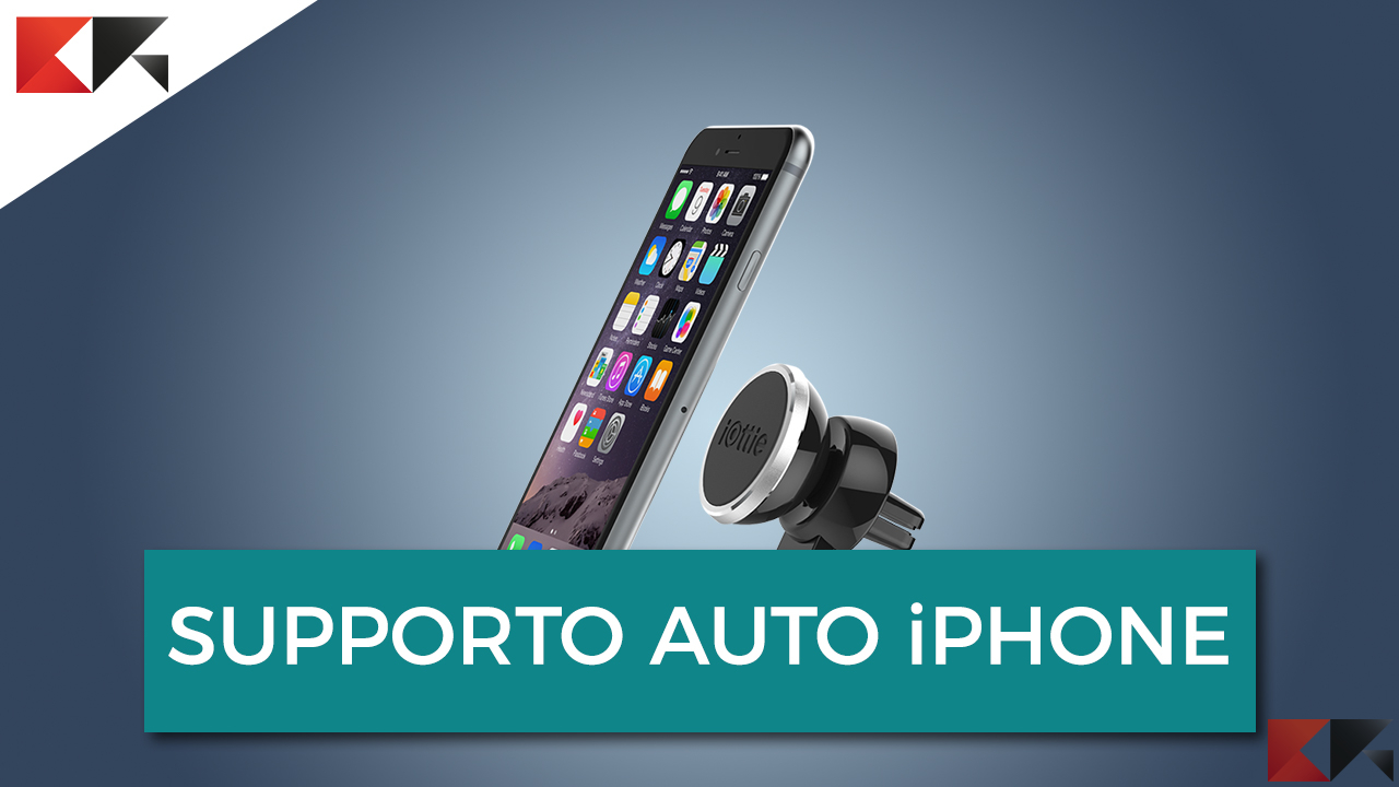supporto auto iphone