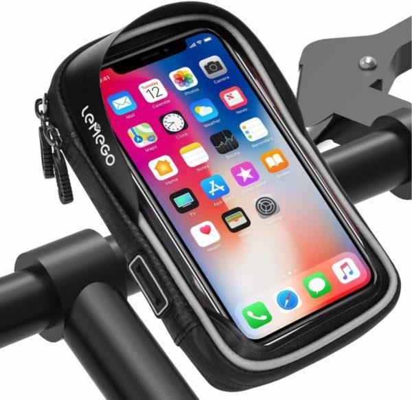 supporto bici per iphone