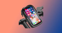 supporto bici per iphone