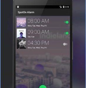 SpotOn Alarm for Spotify