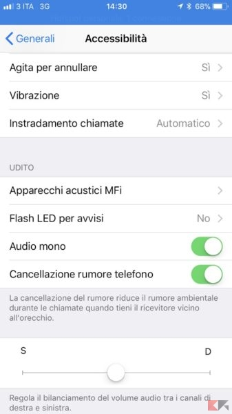mono audio iphone iphone attivare audio mono o stereo chimerarevo 12645