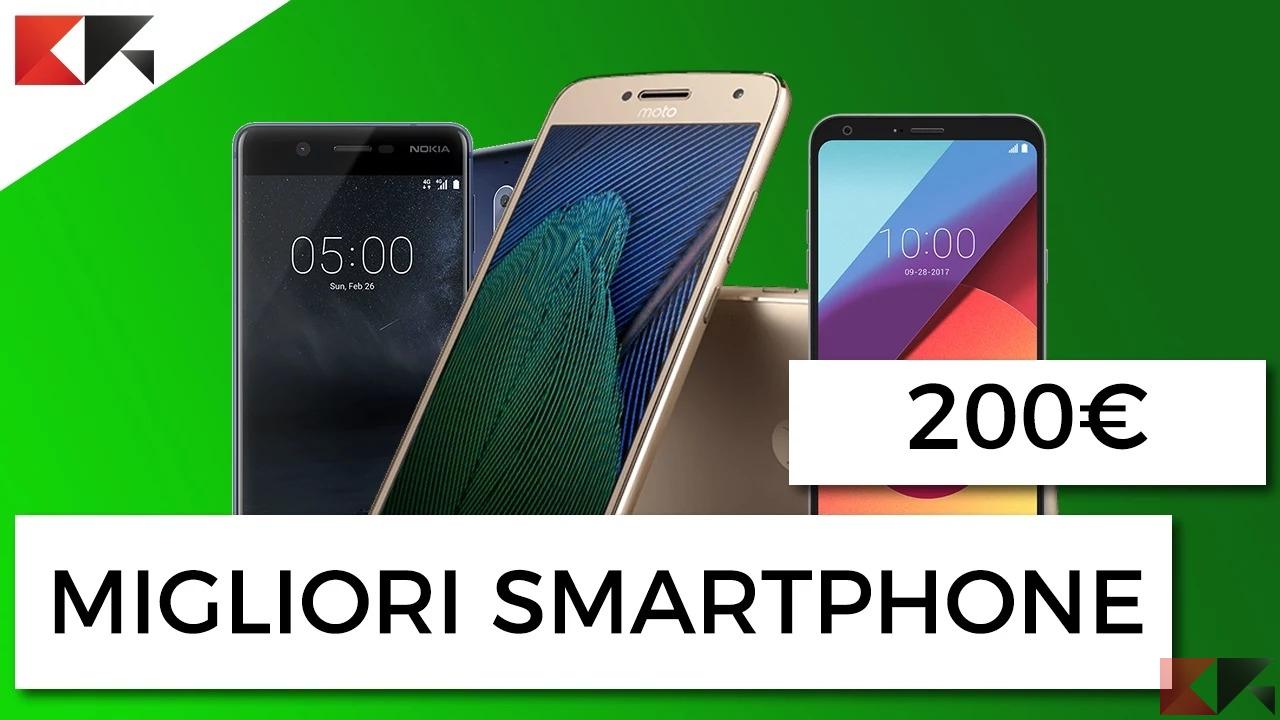 migliori smartphone a 200 euro