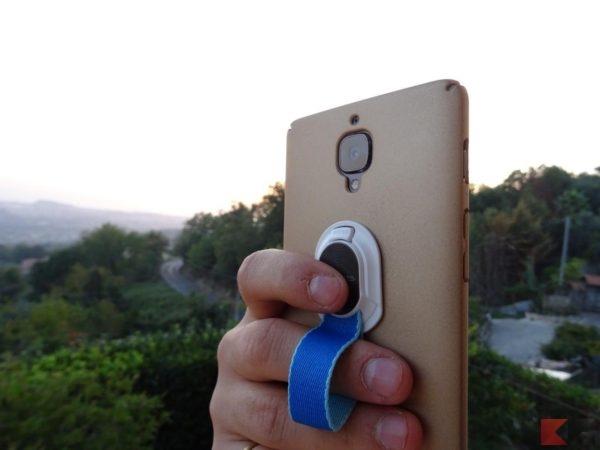 Finger Strap 4smarts supporto smartphone