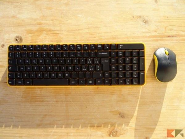 Tastiera + mouse Wireless Jelly Comb