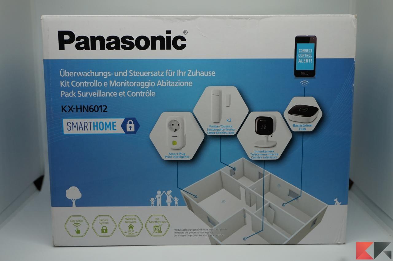 Recensione panasonic smart home tranquilli tutto sotto for Specifiche home plan