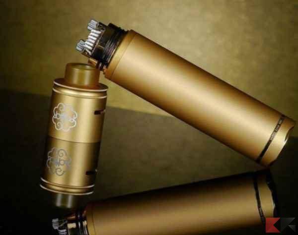 tubo meccanico - sigarette elettroniche