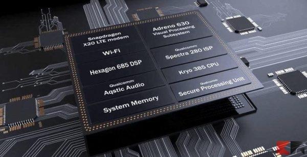 Snapdragon 845 componenti