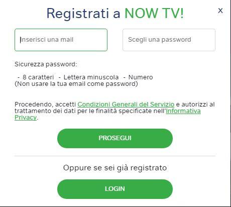 abbonamento now tv