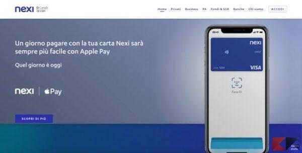 apple pay nexi