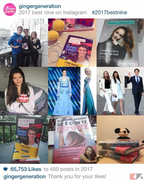 bestnine2017 instagram