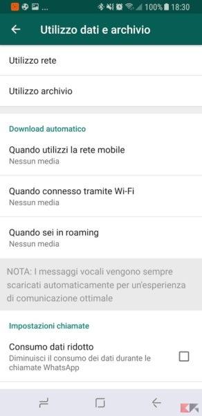 download media automatico whatsapp