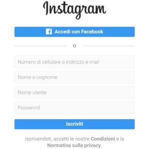 instagram psc