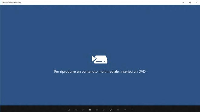 lettore dvd windows 10