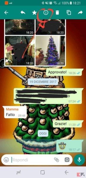 messaggi gruppo whatsapp