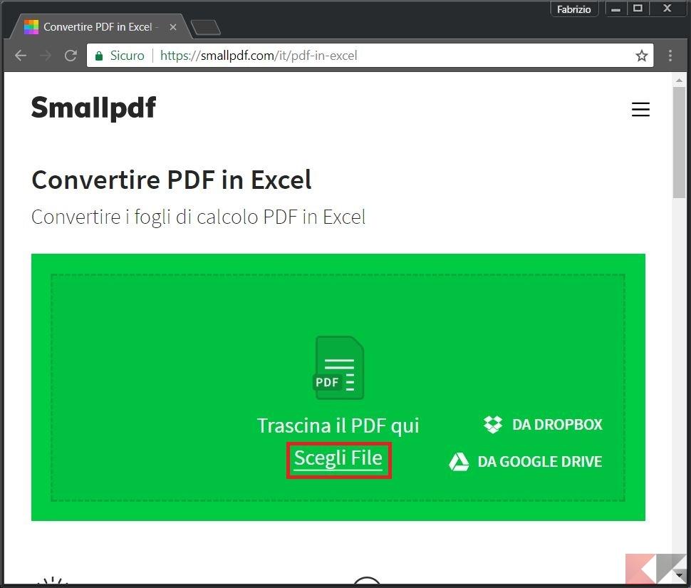 xls file to pdf online