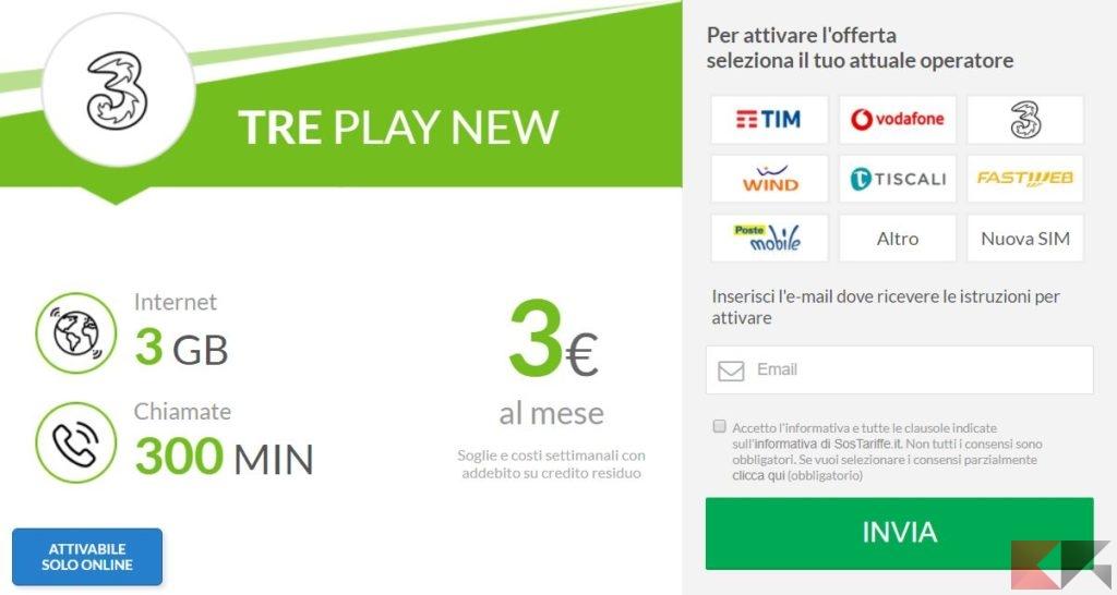 tre play new
