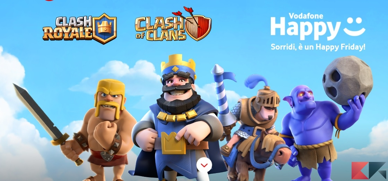 vodafone happy clash