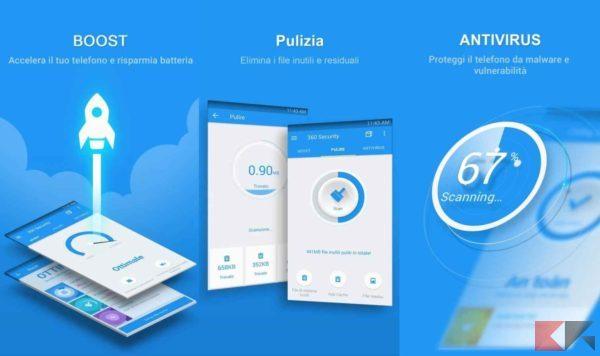 Antivirus per Android - antivirus android - 360 security