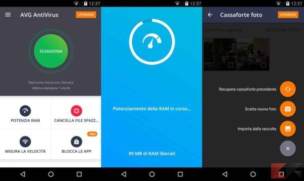 Antivirus per Android - antivirus android - AVG
