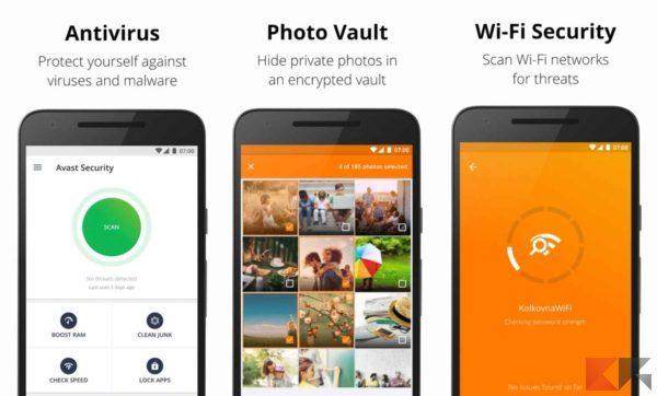 Antivirus per Android - antivirus android - Avast
