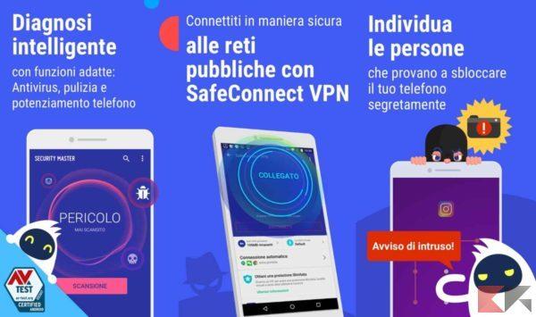 Antivirus per Android - antivirus android - CM security