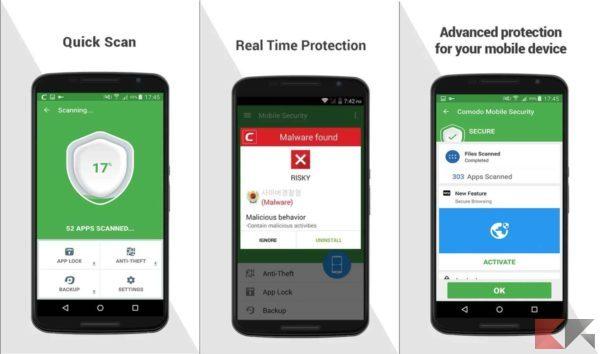 Antivirus per Android - antivirus android - Comodo