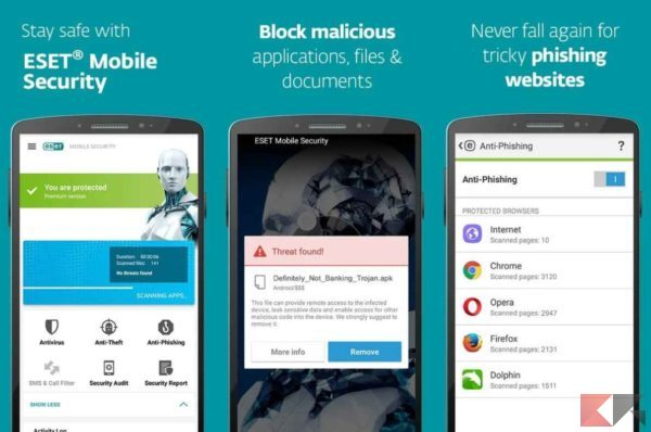 Antivirus per Android - antivirus android - ESET
