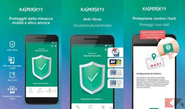 Antivirus per Android - antivirus android - Kaspersky